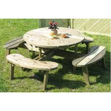 heavy duty round picnic table heavy duty 8 seater round picnic table
