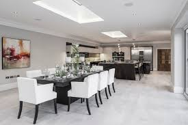 luxury house in buckinghamshire contemporary dining room