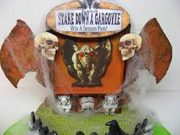halloween tissue paper crafts craft knife chronicles halloween carnival stare down a gargoyle
