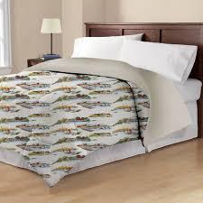Walmart Mainstays Comforter Mainstays Flannel Comforter Walmart Com