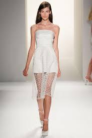 calvin klein wedding dresses white wedding dress inspiration from new york fashion week