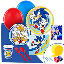sonic the hedgehog party supplies sonic the hedgehog party supplies value party pack