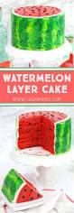 watermelon layer cake sugarhero