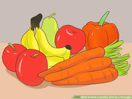 how to have a healthy diet as a teenager with pictures wikihow