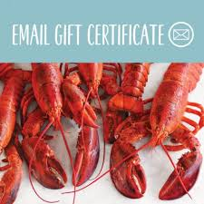 dinner gift cards lobster dinner gift certificates lobster gift cards