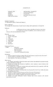 49085146 lesson plan science grade 7