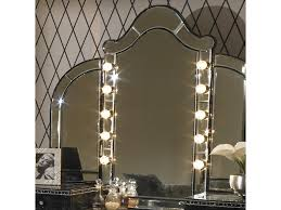 Aico Amini Hollywood Swank Michael Amini Hollywood Swank Vanity Mirror W Light Bulbs