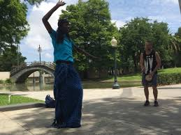 voodoo tours new orleans robin teaching a vodou ritual on the voodoo tour at free tours by