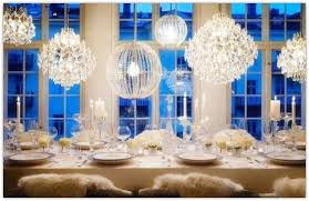 Crystal Chandelier For Dining Room by Crystal Dining Room Chandeliers Organza Silk Drum Shade Crystal