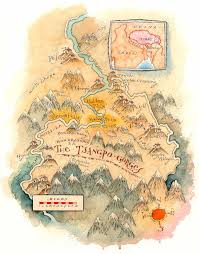North Asia Map by Tsangpo Gorges Tibet Map By Mike Reagan Map Tibet Tibet Nepal