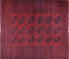 Red And Blue Persian Rug by 10 U0027x12 U0027 Tribal Turkmen Gul Red U0026 Blue Afghan Hand Knotted Wool