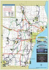 Wisconsin Snowmobile Trail Map by Maps U2014 Inland Snowblazers