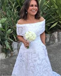 Custom Made Wedding Dresses Uk Lisa Wilkinson Wears Her 2015 Logies Dress For Her Wedding Daily