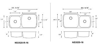 Inset Sinks Kitchen by Heavy Duty Stainless Steel Undermount Kitchen Sinks