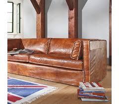 sofa leder braun modell sarapis in leder cuba oxblood tommym by machalke
