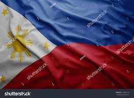 Filipino Flag Colors Waving Colorful Philippine Flag Stock Illustration 156825314