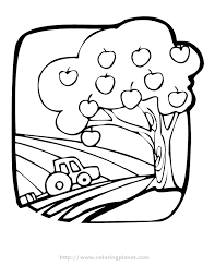 apple tree coloring page apples coloring page coloring home