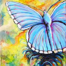 54 best painting ideas butterflies images on