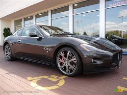 grey maserati granturismo 2009 maserati granturismo s in grigio granito dark grey photo 6