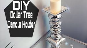 diy dollar tree mirrored candle holder