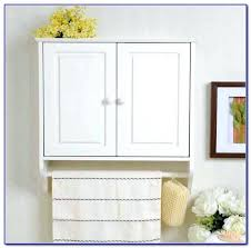 Bathroom Wall Cabinet With Towel Bar Black Bathroom Wall Cabinet Rundumsboot Club