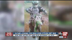 motocross action news father looking for dead son u0027s stolen dirt bike youtube