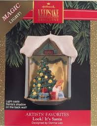 1992 hallmark keepsake ornaments santa and his reindeer by