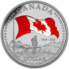 2015 fine silver proof set 50th anniversary of the canadian flag