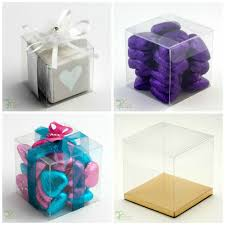 Wedding Cake Gift Boxes Transparent Favour Boxes Ebay