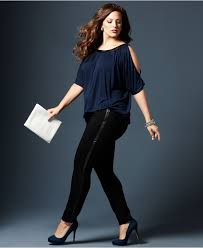 Trendy Cheap Plus Size Clothing High Waisted Plus Size Jeans Pants For Women In Fashion