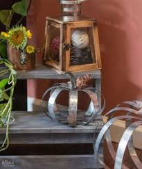 make your own metal pottery barn pumpkins on the cheap pottery