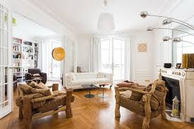 Eclectic Style Eccentric Eclectic Style Apartment In Paris With African Motifs