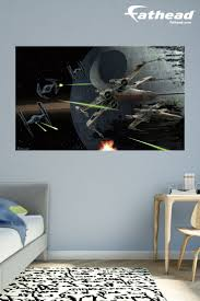 71 best star wars bedroom ideas for boys kids home decor battle of endor mural