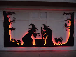 Led Lights Halloween Fabulous Ideas For Halloween Decoration Features Garage Door