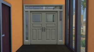 Build Blog by Mod The Sims Contemporary 3x1 Door And Arch S4 Portes
