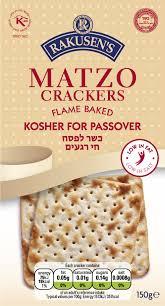 matzos for passover passover matzo crackers rakusen s