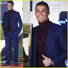 Cristiano Ronaldo Halloween Costume Cristiano Ronaldo Presents Debut Fragrance U0027legacy U0027 Madrid