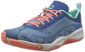 merrell allout soar women u0027s low top sneakers blue tahoe shoes