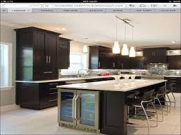 kitchen fantastic kitchen island with wine fridge photo design