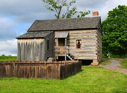 log house smith family log home