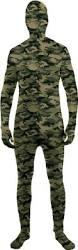 Skin Suit Halloween Costume C863 Disappearing Man Skin Body Suit Zentai Bucks
