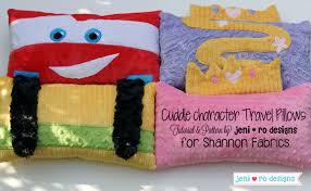 Cuddle Cushion Cuddle Character Travel Pillows U2013 Sewciety U2013 My Cuddle Corner