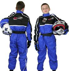 childs motocross helmet childrens kids race suit overalls karting motocross racing one