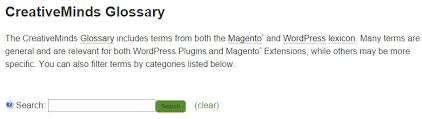 organizing synonym how to build a user friendly glossary in wordpress