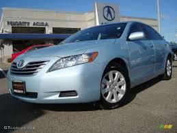 2009 sky blue pearl toyota camry hybrid 24363340 gtcarlot com