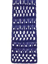 broomstick lace caron broomstick lace scarf stole or throw crochet pattern