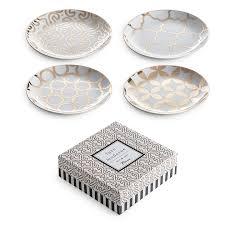 horderve plates luxe moderne appetizer plates set of 4