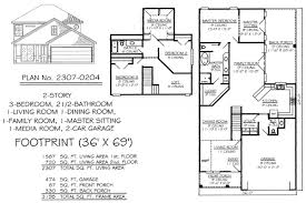 small 2 bedroom 2 bath house plans narrow monte smith designs house plans