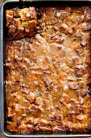 best pumpkin bread pudding with brown sugar caramel sauce