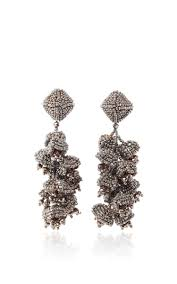 Marcia Moran Chandelier Earrings The Grapes Gold Rose Earrings By Sachin U0026 Babi For Preorder On